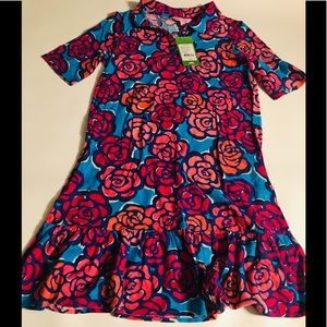 Lilly Pulitzer Girls Flower Design Dress